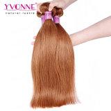 100%の実質の人間の毛髪の拡張ペルーのまっすぐなRemyの毛