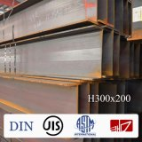 Perfis do aço do feixe Ss400/S355nl de H