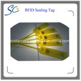 Étiquette d'étanchéité RFID 13.56MHz jetable pour la sécurité