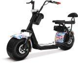 """""""trotinette"""" elétrico grande com a motocicleta do motor 1000W"""