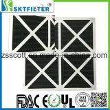 Filtro de fibra de carbono activado