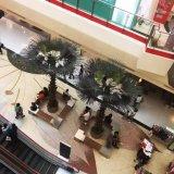 Большая искусственная пальма вентилятора для украшения торгового центра