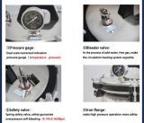 Digitalanzeigen-Abgas-Typ vertikaler Digitalanzeigen-Sterilisator-Autoklav