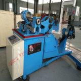 生産をする円形の空気管のための螺線形ダクト機械