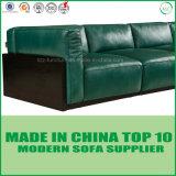 Base di sofà di legno del cuoio della casa dell'ufficio