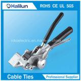 Lqa球ロックケーブルのタイの束ねることを助けるための正常なSsケーブルのタイのツール