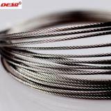 Le carbone multicouche ou la corde de fils en acier inoxydable