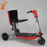 Colore rosso astuto del fornitore della Cina che piega un motorino elettrico delle tre rotelle