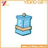 カスタムロゴの方法PVCバッジの折りえりPinの記念品のギフト(YB-HD-129)