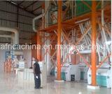 Máquina instalada moinho da fábrica de moagem do milho da Zâmbia de Kenya Uganda do milho