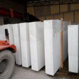Materiais de construção de pedra de quartzo da engenharia de branco