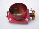 het Rennen van 65mm/70mm/80mm/90mm/100mm het Universele Aluminium van het Lichaam van het Gaspedaal Blauw/Rood /Silver