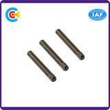 Knurled 둥근 가구를 위한 헤드에 의하여 주문을 받아서 만들어지는 어깨 Pin 또는 부엌 또는 내각
