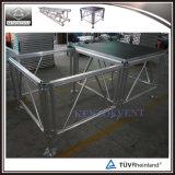 Plate-forme portative en aluminium extérieure d'étape de la meilleure vente