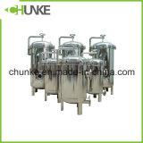 2t/H Huisvesting de van uitstekende kwaliteit die van de Filter van de Zak van het Water in China wordt gemaakt