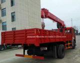 Dongfeng 6X4 화물 자동차 Loadingturck는 12t 기중기 트럭으로 거치했다