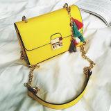 OEM 로고 도매 공장 상한 Qualitied PU 소녀 핸드백 최신 판매 숙녀 Crossbody 어깨에 매는 가방 Sy8427