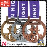 Медаль металла спорта поставщика изготовления с изготовленный на заказ размером