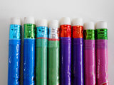 Crayon de rétrécissement avec le crayon bon marché d'élève de crayon d'HB de crayon de gomme à effacer