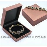 Alta calidad con el rectángulo de regalo de madera de la joyería del diseño colorido de lujo