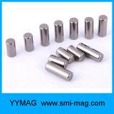 N52 de Magneet van het Neodymium van de Cilinder van de Deklaag D12X15mm van het Nikkel