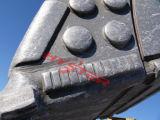 De hoge Knopen van de Slijtage van het Ijzer van het Chroom Witte voor de Bescherming van de Slijtage van de Emmer van het Graafwerktuig