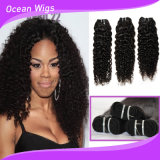 8A等級の高品質の組みひも、100人のバージンの毛の織り方のためのブラジルのRemyの毛