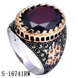 New Arrival Sterling Silver Ring Jewelry com Ágata