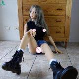 Lebensgrosse Geschlechts-Puppe-lebensechte reale Silikon-Geschlechts-Puppe des Geschlechts-Doll158cm mit grosse Brust-orale Vagina-reizvollen Spielwaren für Mann