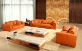 Кровать софы неподдельной кожи офиса мебели