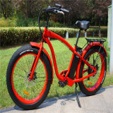 Bici gorda fácil de la playa E del neumático del montar a caballo 500W 26inch