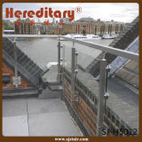층계를 위한 실내 스테인리스 유리제 난간은 분해한다 (SJ-H930)
