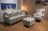 Sofà moderno con tessuto per la mobilia del sofà del salone (3+1)