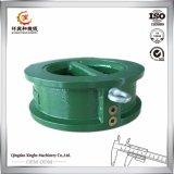 Moulage de fonte ductile OEM de fer de fonte avec la peinture verte