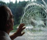 Resistência ao impacto da película de segurança de protecção transparente