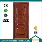 Personnaliser la porte en bois solide affleurante moderne intérieure pour la villa