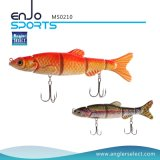 Multi-articulé Life-Like Swimbait 4 Section Hard Fishing Lures Salt & Fresh Water Fishing Bait Fishing Tackle (MS0210)