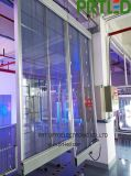 Afficheur LED extérieur d'intérieur transparent de verre pour annoncer (P3.9, P5)