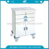 Heiße Edelstahl-Strand-Laufkatze-Krankenhaus-Karren des Verkaufs-AG-Et017 luxuriöse
