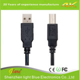 Transparent Blue Color USB Printer Cable