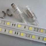 세륨 RoHS Epistar 5050SMD 0.5m 1m 1.5m 12V 엄밀한 지구 빛 IP67 옥외 LED 엄밀한 바