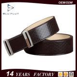 本物の最上層の革完全な穀物の革靴の人ベルト