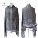 Sciarpa del jacquard stampata stile caldo del Nepal di modo di vendita dello scialle di Pashmina