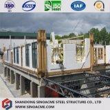 Здание Китая Multi-Storey полуфабрикат коммерчески с светлой стальной рамкой