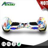 10 patín eléctrico de equilibrio de Hoverboard de la vespa del uno mismo de la bicicleta de la rueda de la pulgada 2