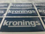 로고에 의하여 인쇄되는 에폭시 수지 스티커를 가진 방수 관례 3D 돔 스티커