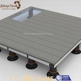 Zócalo plástico ajustable impermeable fuerte del suelo para el Decking