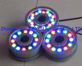 Yaye 18 Hot vender DMX512 Fonte de LED de 9 W / Luz de LED de 9 W Luz subaquática PI68/ DMX512 Luz de Pool de 9 W