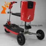 Colore rosso di buoni prezzi che piega il motorino elettrico di mobilità
