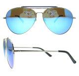 Óculos de sol de metal de moda para Unisex com Ce FDA
